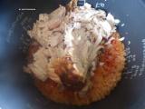 「【コストコレシピ】絶品チキンライス!余りチキンと米をトマトジュースで炊くだけ!」の画像(10枚目)