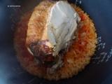 「【コストコレシピ】絶品チキンライス!余りチキンと米をトマトジュースで炊くだけ!」の画像(9枚目)