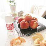 おはようございます🎶昨日は旬の桃が届きました~💕 そのまま食べるのが一番美味しいと思いますが...今嵌まってる寒天と一緒に甘味を少し加えて頂きました🎵爽やかな甘さがたまらなく美味しくて..…のInstagram画像