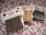 身体にやさしくて美味しい☆ビオクラのマクロビクッキー3種食べ比べ☆の画像(1枚目)