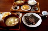 美味しい海苔とお茶の佃煮と・・休日朝ごはん♪の画像(1枚目)