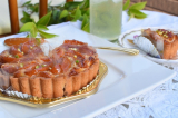 「甘酸っぱさが広がる☆マクロビオティックケーキ☆信州産アプリコットタルト」の画像(5枚目)