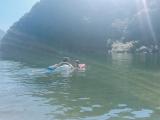 「泳ぐ練習用浮き輪「スイムトレーナー」で遊んだよ!」の画像(8枚目)