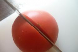 「熟れ熟れトマトも一刀両断(^ω^)【堺の刃物屋さんこかじ SAKAI OWL イノックス 三徳】」の画像(6枚目)