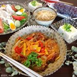・・Because the hot day continues, supper dinner with plenty of vinegar・・こんばんは・・今日も暑かっ…のInstagram画像
