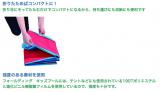 「☆ 有限会社リトルプリンセスさん フォールディング・キッズプール 空気入れ必要なし!たためばコンパクト!室内でも使えます。」の画像(4枚目)