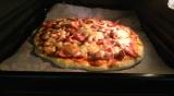 手作りピザと大山ハムさんのモルタデッラハムの画像(1枚目)