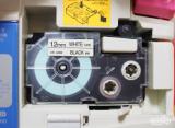 ☆ プリンタス株式会社さん カシオネームランド互換テープカートリッジ 裏面にスリットがあるから、剥がしやすい!の画像(4枚目)