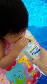 ビーンスターク ポカリスエット♪赤ちゃんの熱中症対策の画像(2枚目)