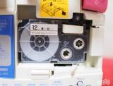 ☆ プリンタス株式会社さん カシオネームランド互換テープカートリッジ 裏面にスリットがあるから、剥がしやすい!の画像(6枚目)