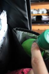 ★★★ 通勤・通学、旅行にも!ALPHAコラボの便利な2層式収納バックパック ★★★の画像(10枚目)