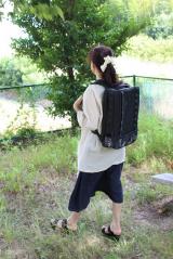 ★★★ 通勤・通学、旅行にも!ALPHAコラボの便利な2層式収納バックパック ★★★の画像(25枚目)