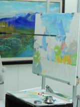 夏休み課外授業☆口と足で描いた絵 ~HEARTありがとう~の画像(4枚目)