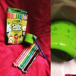 #crayola #クレヨラ #シリーセンツ #水でおとせるスリムマーカー #文房具 #懸賞 #匂いペン #ドリームブロッサム #monipla #dreamblossom_fan嬉しいモ…のInstagram画像