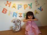 3歳の誕生日パーティー♡の画像(3枚目)