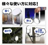 LEDライト(防水・電池容量7800mA・USB充電式・720ルーメン・三脚固定・多目的ライト・の画像(2枚目)