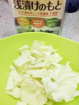 「まんべんなく夏野菜にまぶせて、より使いやすく、おいしく♡海の精 浅漬けのもと」の画像(4枚目)