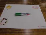 ♪口と足で描く芸術家協会「夏の特別課外授業」♪♪の画像(4枚目)