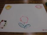 ♪口と足で描く芸術家協会「夏の特別課外授業」♪♪の画像(5枚目)