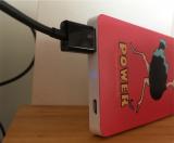 ダチョウグッズを自作しました。【オリジナルプリントのモバイルバッテリー】 - ゆずのバカヤロー、16年の画像(13枚目)