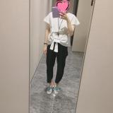 「【マタニティコーデ】fifthワイドパンツ♡30w5d」の画像(1枚目)