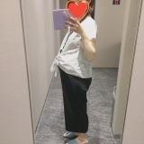 「【マタニティコーデ】fifthワイドパンツ♡30w5d」の画像(3枚目)