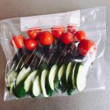 「収穫した夏野菜でおいしい浅漬け◟̑◞̑」の画像(10枚目)