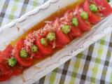 冷たいトマトwith鎌田だし醤油の画像(1枚目)