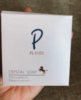 こだわりのPLAMIDクリスタルソープ ♡馬プラセンタを配合 弱アルカリ洗顔石鹸の画像(2枚目)
