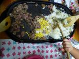 「【あのお店の味!】安い肉で大満足のステーキライス!3人息子が作りました!」の画像(10枚目)