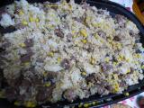 「【あのお店の味!】安い肉で大満足のステーキライス!3人息子が作りました!」の画像(11枚目)
