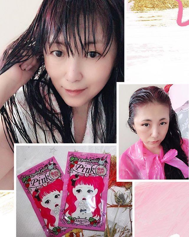 口コミ投稿:夏はピンクに髪色チェンジ『クイスクイス デビルズトリック キャンディピンク』を…