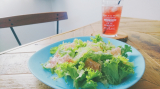「【うちごはん】モンマルシェのレモンレリッシュで簡単♪生ハムサラダ」の画像(1枚目)