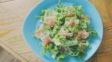「【うちごはん】モンマルシェのレモンレリッシュで簡単♪生ハムサラダ」の画像(5枚目)