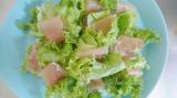 「【うちごはん】モンマルシェのレモンレリッシュで簡単♪生ハムサラダ」の画像(3枚目)