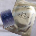 ・・AXXZIA 様からAIRY FACE MASK(エアリーフェイスマスク)頂きました😊💕・すごく薄いんです!!薄いけどたっぷり液を含んでいるので使用途中で乾くことは…のInstagram画像