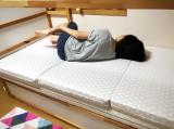 マットが変われば眠りも変わる〜♫東京西川の三つ折り高機能、高反発マットレス「LUNO ルーノ」♡の画像(10枚目)