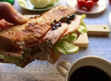「大山ハムのリオナソーセージ『トマト&バジルソーセージ』でサンドイッチをいろいろ!どれも美味しい!」の画像(17枚目)
