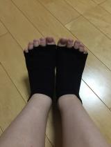 ほーりぃ インナーソックスをモニター♡の画像(4枚目)
