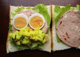 「大山ハムのリオナソーセージ『トマト&バジルソーセージ』でサンドイッチをいろいろ!どれも美味しい!」の画像(8枚目)