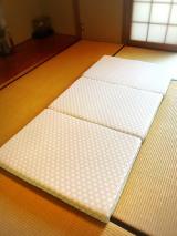マットが変われば眠りも変わる〜♫東京西川の三つ折り高機能、高反発マットレス「LUNO ルーノ」♡の画像(5枚目)