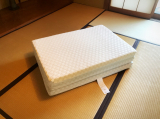 マットが変われば眠りも変わる〜♫東京西川の三つ折り高機能、高反発マットレス「LUNO ルーノ」♡の画像(6枚目)