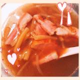 「まるごとキューブだし」を使ったスープジャーレシピ♡の画像(3枚目)