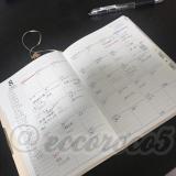 【使ってます③】PAGEM手帳マンスリータイプの画像(2枚目)