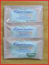 Cureバスタイム フルーティローズの香り ヒマラヤ岩塩バスソルト 入浴剤の画像(1枚目)