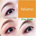 カラコンレポ❤️・白石麻衣さんがイメージモデルをされている、feliamo✨私が使用しているのは、CoppuccinoとOlive Brownです(*^ω^*)・DIA:1…のInstagram画像