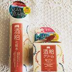 .こんばんは。今日は日本酒を飲みながら美味しいお魚をいただきました🐟〜そこで、日本酒つながりでワフードメイド「酒粕化粧水」と「酒粕クリーム」の、お話をさせていただき…のInstagram画像