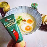 。。パパお気に入りの唐辛子ペースト。ラーメンにも、お肉の炒め物にも合う!!辛いけど…😛。。#OHot #オーホット #富士食品工業 #monipla #fujifoods_fa…のInstagram画像