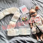 .今日で2ヶ月💜💛💚💙❤ #マタニティ #フェリシモマタニティ #フェリシモ #マタニティ記録 #プレママさんと繋がりたい #プレママライフ #妊娠記録 #ママスタグラム #ぷんにー #ぷんにーら…のInstagram画像