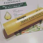 「Blistex」のラインナップから、昨年日本で発売した「トリプルエッセンシャルズ」 「トリプルエッセンシャルズ」は3種のエッセンシャルオイルを配合した、アロマ志向のリップクリーム。オイル…のInstagram画像